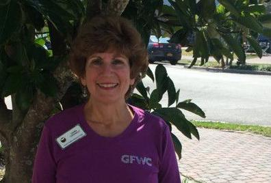 GFWC North Pinellas Woman's Club president, Laura Connelly